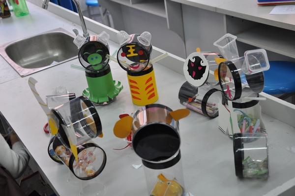 如东举办中小学生废品手工制作比赛